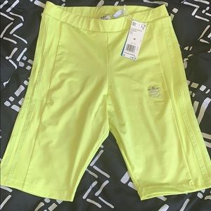 Adidas biker shorts WITH TAG
